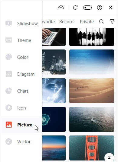 The Picture Libray is one of the best iSlide features to use